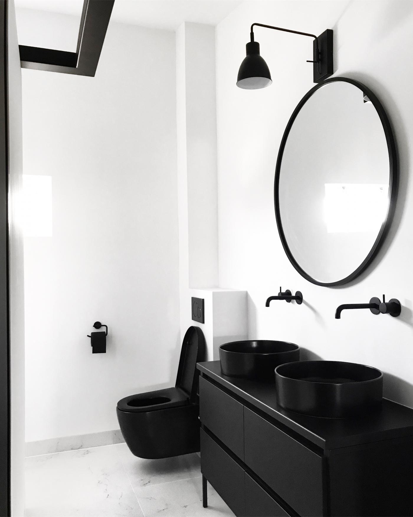 Baño de estilo moderno.